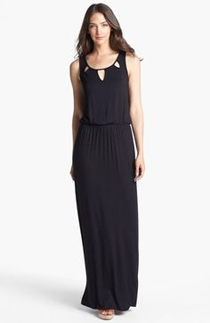 Pleione Cutout Maxi Dress available at #Nordstrom