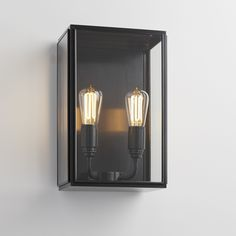 ESSEX CITY-C dark bronze clear glass, TEKNA, Nautic, Wall Lamp