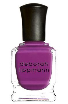 Purple nails! Deborah Lippmann Nail Color