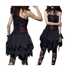 vestidos góticas -