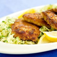 Crispy Pork Cutlets with Buttered Noodles Recipe - Cook's Country dec07