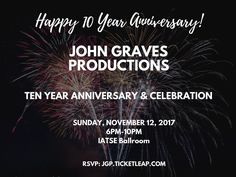 [[#CLIENT NEWS]]: Because why not finish the day with a shoutout: @jgproductions1 10th Anniversary Gala is coming this month--get your tickets NOW at jgp.ticketleap.com! Don't miss a swanky event which helps create further pathways for artists to express themselves! #blackexcellence #theaterarts #performancearts #Philly #gala #celebrate #decade #anniversary