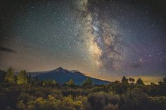 Mount Shasta and the Milky Way by Ian Norman on 500px