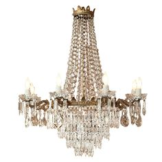 Everyone Love Vintage Styles: Beautiful Vintage Chandelier ~ Chandeliers Inspiration