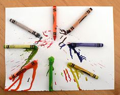 Crayon melting...