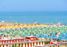 "Rimini beach - ""Living La Dolce Vita"" by @Jan Fuscoe"