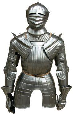 ARMAE Demi armure à la Maximilienne                                                                                                                                                      Plus