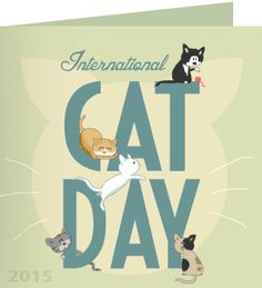 Antoinette, thank you for taking action on world cat day. 'I believe cats to be spirits come to earth. A cat, I am sure, could walk on a cloud without coming through.' ~ Jules Verne
