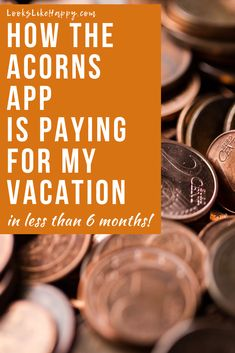 How the Acorns App is Paying For My Vacation | That's right- spare change is paying for our vacation & airfare! Find out how and plan your next adventure!  #acorns #money