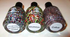 Keep Your Nail Game Fresh: Dollish Polish - Big Bang Theory Collection #nails #nailpolish #swatches #review #beautyblog