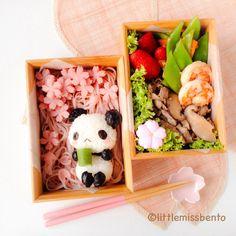 Panda Sakura Hanami Bento