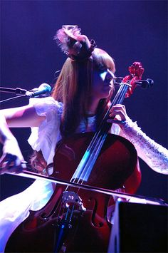 Coolest cellist ever. Kanon Wakeshima