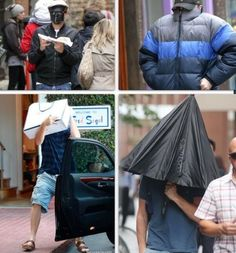 Leonardo dicaprio hiding from paps is the best thig.