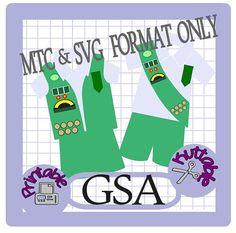 Girl Scouts Bundle Cut Files MTC & SVG File by TheScrapoholic