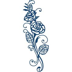 Tattered Lace Majestic Rose Die