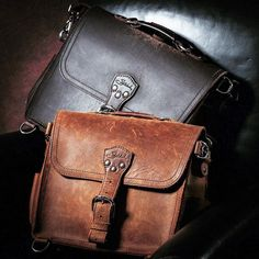 The only thing better than one Satchel with fantastic patina is TWO Satchels with fantastic patina! Well done @jeffkew #Satchel #D800E #NikonPhoto #BetterWithAge #LeatherGoods #SaddlebackLeather