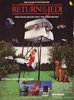 Retro geek : La cabane Star Wars dans les années 80