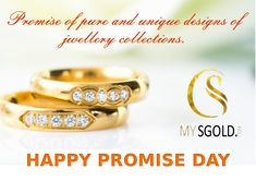 MysGold is an exclusive brand presenting various types of jewellery.The store is situated in Nagpur.MySGold is presenting a jewellery for every common man at a reasonable price with safety and security as our tagline says Latest Gold Jewellery, Gold Jewellery Design, Silver Jewelry, Happy Promise Day, Online Collections, Wedding Rings, India, Engagement Rings, Diamond