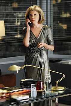 "Diane Lockhart (Christine Baranski - ""The Good Wife"")"