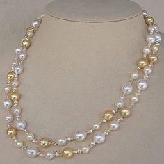 【楽天市場】真珠 ネックレス パール デザイン…