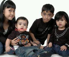 Foto 4 Anak Ustad Jefri Al Buchori