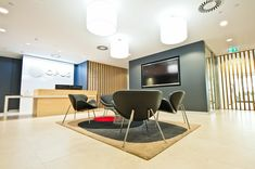 inOne relocated Opus` office to a new premises and in the process, created a light-filled, sophisticated space imbued with natural materials. The time frame was a crucial consideration, however, inOne rose to the challenge and relocated 75 staff to the new premises in less than 8 weeks.