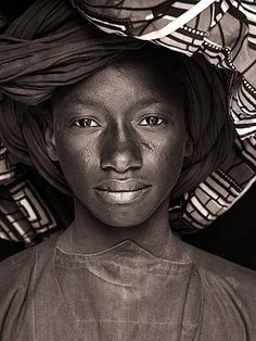 Stunning images from the Portraits from Africa exhibition in London's Covent Garden.