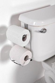 Este pode resolver o caso  de falta de espaço para colocar rolos de papel higiênico em WC social