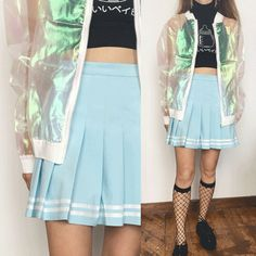 2017 NEW ITEMS BABY BLUE- CRYBABY SKIRT