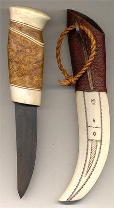 Same kniv Sign. Martin Kuorak på Tradera.com - Knivar från Skandinavien