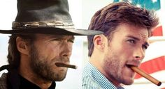 scott-and-clint-eastwood - Clint didnt make it easy for him