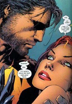 Jean GREY (PHOENIX) and James HOWLETT (WOLVERINE)   PORTFOLIO: Marvel LOVERS