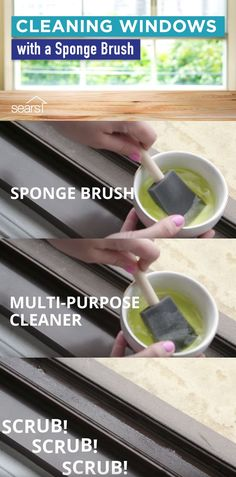 Cleaning your windows can be a pain. We tested popular window cleaning hacks to see if they can help make the job easier. Wondering how to clean those hard-to-reach window tracks that collect dirt and dust? We tested using a sponge brush and multi-purpose cleaner to clean the narrow, hard-to-clean window tracks. Visit the Sears Home Improvement blog to find out if this hack actually worked, plus more window cleaning hacks!