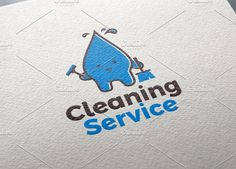 Cleaning Service | Logo Templte by REDVY on @creativemarket
