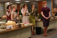 Pin for Later: Our All Time Favourite Mad Men Fashion Moments Season 2 Joan Holloway