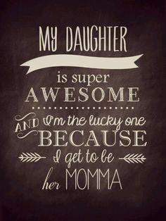 Una hija!