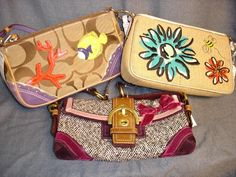 coach wristlets.... Cute and practical