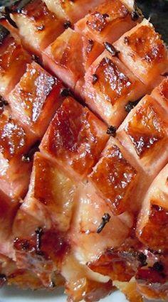 Honey Glazed Ham ❊