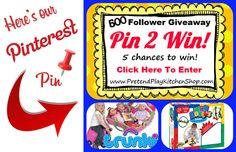 Pin 2 Win Giveaway