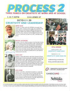 Process Event at Kaneko-UNO Library 10/29/15 5:30-7:00.