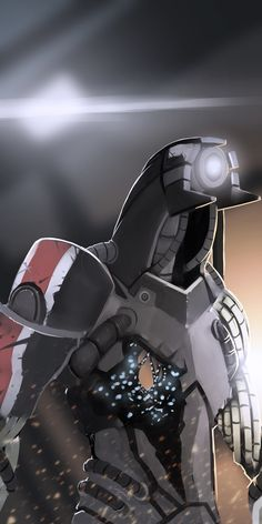Legion - Mass Effect by LoginovLS.deviantart.com #MassEffect