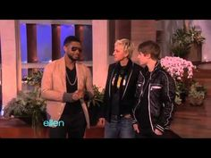 Usher Surprises Justin Bieber -- and the Entire Audience! - YouTube