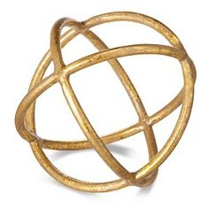 Threshold™ Knot Sculpture Large - Gold : Target