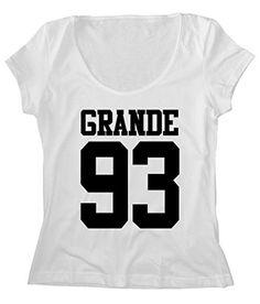 Women's Scoop Neck Ariana Sport Grande 93_FREE SHIP_LOW PRICE_100%Cotton http://www.amazon.com/dp/B016K5J6K8/ref=cm_sw_r_pi_dp_dUDfxb004FK1C