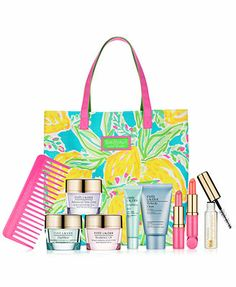 Choose a FREE 7-Pc. Summer Gift with $35 Estée Lauder skincare or foundation purchase <3 It