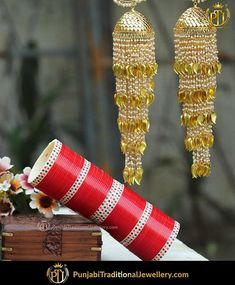 The most crucial element of your wedding day. Make sure you choose from the best of best.   featured:- Traditional Dotted Red Chura & Pearl Kalire     Shop our latest collection at our store or visit our website today to buy..  You may also DM us OR contact us at 91 9914721111 to buy.  Image copyright 2k18 Punjabi Traditional Jewellery  WORLDWIDE SHIPPING AVAILABLE  Free Shipping in India  Cash on delivery available for India  All kinds of Debit/Credit Cards or other payment methods are…