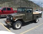 Toyota Land Cruiser Truck -
