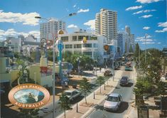 Genre:  postcard Year Created:  c1995 Contributor:  Centre for the Government of Queensland Publisher:  Nu-Color-Vue Headwords:  Surfers Paradise Surfers, Times Square, Paradise, Inspirational Quotes, Centre, Travel, Color, Surf Girls, Life Coach Quotes