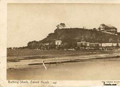 1916 Tweed Heads Bathing Sheds Gold Coast Australia, Sunshine Coast, Historical Pictures, Byron Bay, Holiday Destinations, Beautiful Beaches, Past, Vintage, History