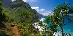 This is the best running trail list I've come across, I wish I was here! Who else thinks this is perfect? - Kalalau Trail